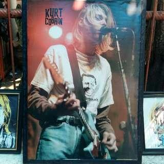 "Pigura ""Kurt Cobain"""