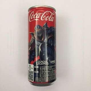 LOL特別版可樂 Coca Cola