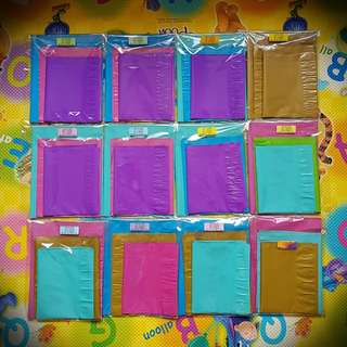 Assorted Colourful Polymailer GB