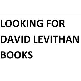 david levithan books (except everyday and another day)