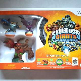 Skylanders Giants Wii Starter Pack