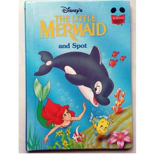 Preloved Disney Story Book - The Little Mermaid and Spot