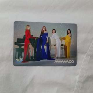 Mamamoo yes card
