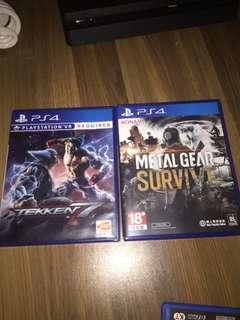 Ps4/ps vita games