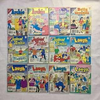 Archie Comics (Vintage Digest Magazines)