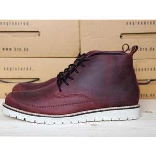 Sepatu Boots BRODO Mandalika Vintage Wood