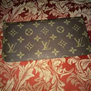 Lv monogram wallet