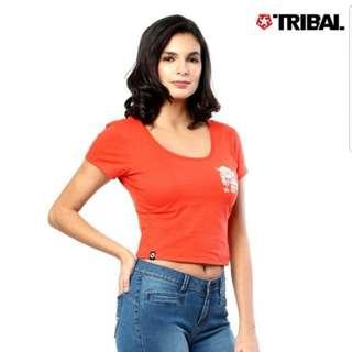 Tribal crop top