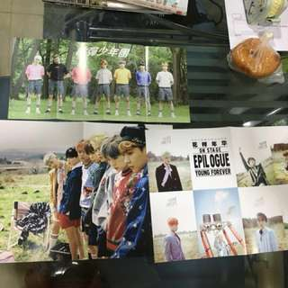 [WTS]BTS unofficial folded poster[PRICE REDUCED]