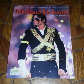 Michael Jackson Tribute Book