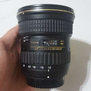 Tokina 12-24mm F4 ATX 124 DX II