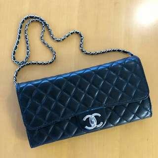 Chanel Wallet Clutch羊皮 24cm x 13cm