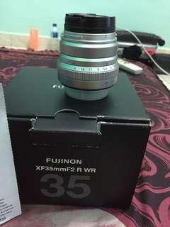 Lensa fujifilm fujinon XF 35mm F2 R