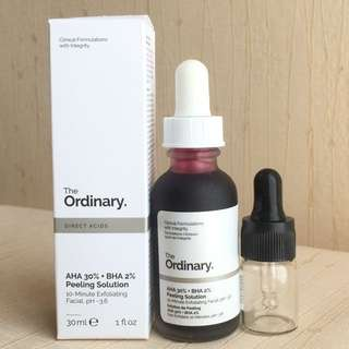 THE ORDINARY AHA 30% + BHA 2% (5ml)