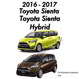 Toyota Sienta/Sienta Hybrid For UberGrab. 2016 - Brand New Car for Rental.
