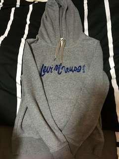 Korea version Levis grey hoodies