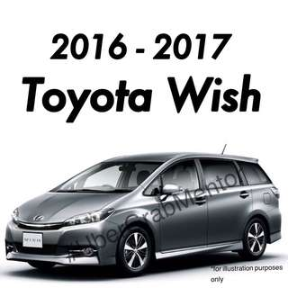 Toyota Wish for UberGrab. 2016 - Brand New Wish for Rental