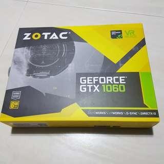 Zotac Gtx 1060 6GB Mini (hynix)