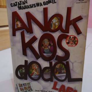 Anak Kos Dodol Lagi (Novel)