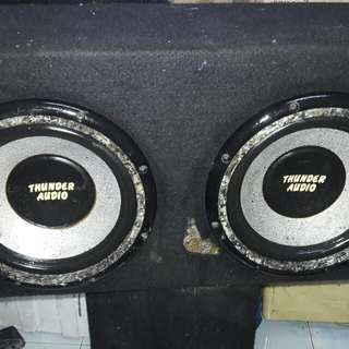 "Sub woofer Tunder Audio 10"" double woofer"