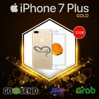 IPHONE 7 PLUS - 32GB - GOLD (no barter, no nego)