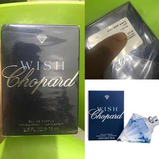 Auth 💯 Chopard Wish Diamond Perfume! Save half the price!!!