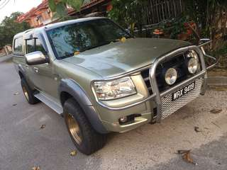 Ford Ranger XLT 2008 2.5 TDCi 5 Speed Automatic