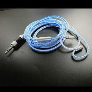 16絞手工編織耳機線