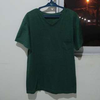V-Neck Shirt - Green