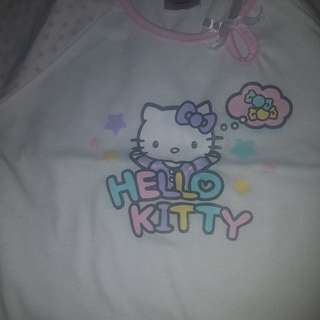 PRELOVED HELLO KITTY SHIRT 0-6months