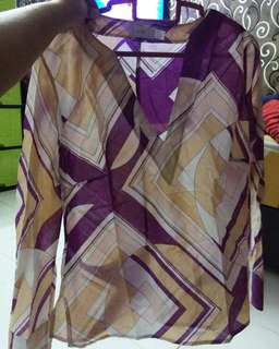 💯MNG Blouse Size M