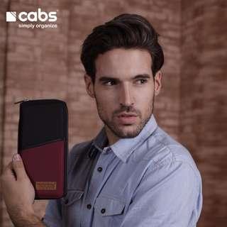 Cabs Pocket Zayn - Dompet Passport, Dompet Kartu, Dompet HPO Untuk Pria & Wanita Multifungsi - Maroon