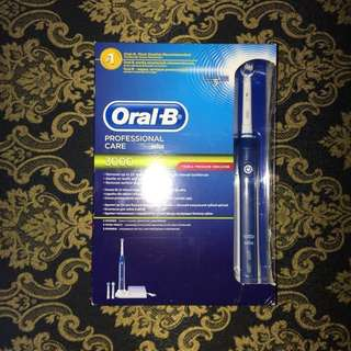 Oral-B Pro 3000 series electric toothbrush