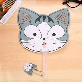 Chi Cat Hand fan