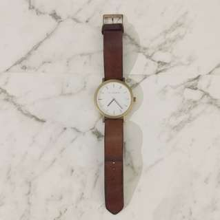 The Horse Chestnut & Rose Gold Watch