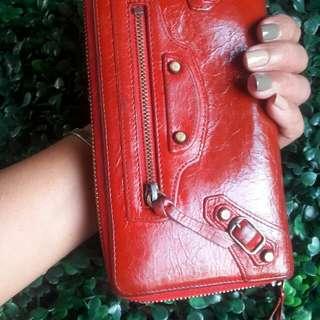 Authentic Balenciaga Zippy City wallet