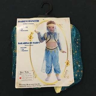 Harem Dancer or Middle East or Belly Dancer Costume for Toddler