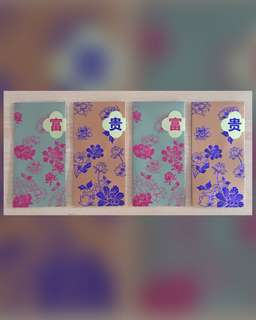Flowery Style Money Packet