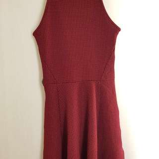 NEW Dress H&M maroon