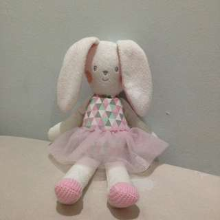 Pink Bunny Doll