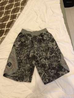 Adidas zipper ash camo shorts