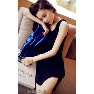 🔴 SALES | BNIB Petite Slim Fit Asy Uneven Cut In Side Slit Mini Dress (D27)