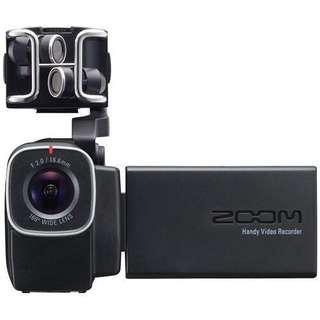Zoom Q8 video camera (mint)
