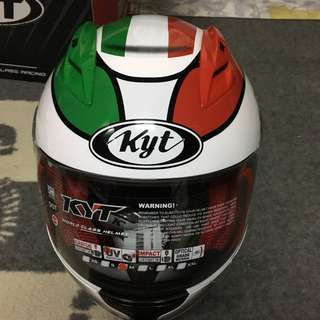 KYT RC7 ITALY WHITE #15