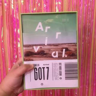 GOT7 Mini Album Flight Log: Arrival