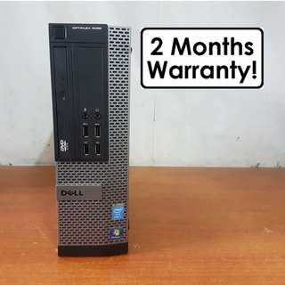 [Core I7 Gen4 CPU] Dell Optiplex 9020 SFF: 4 Core 8 Threads! USB 3.0!