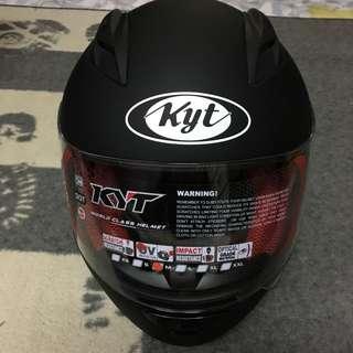 KYT RC7 POLOS BLACK MATT