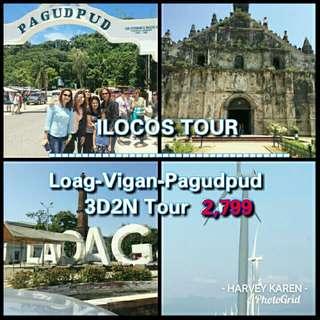 ILOCOS TOUR 3D2N