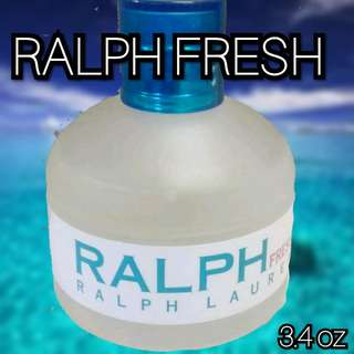3.4 oz Ralph Fresh by Ralph Lauren 80%+ full