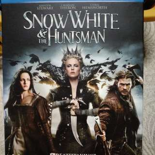 Blu ray, Original, Snow White & the Huntsman